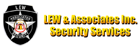 Logo, LEW & Associates Inc. Security Services - Executive Protection
